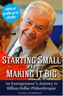 Book: Starting Small and Making It Big - Photo: Man's Headshot