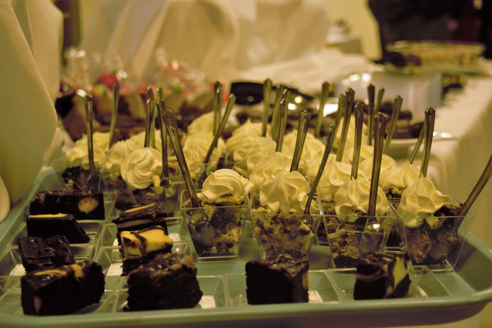 2018 Annual Meeting desserts + food