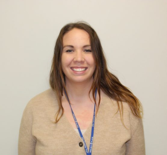 Ally our new adult education teacher and case manager